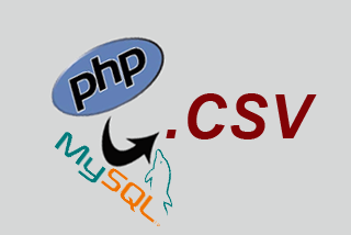 How to export SQL table in csv with PHP