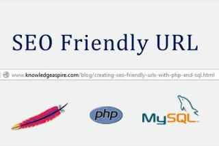 Creating SEO friendly URLs with PHP and SQL